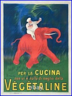 Affiche VÉGÉTALINE par Leonetto Cappiello / 115 x 155cm