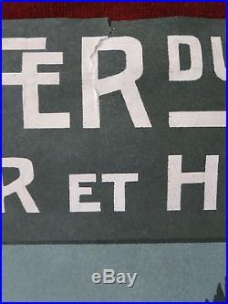 Affiche Vintage Poster H. Germa Font-Romeu Le Gd Hôtel Chemins de Fer d'Orléans