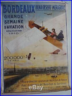 Affiche ancienne