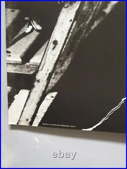 Affiche ancienne Albert Camus Photos Géantes 75x110 26 Nobel écrivain