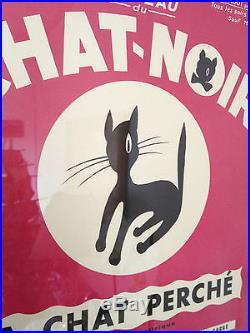 Affiche ancienne Cabaret CHAT NOIR