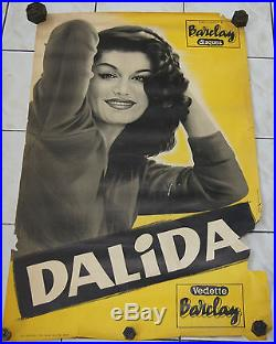 Affiche ancienne Dalida