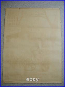 Affiche ancienne Jan Metteix arrache-clous Cavalade old french poster plakat art