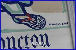 Affiche ancienne Monique Cras- Tombouctou République Soudanaise (Mali)