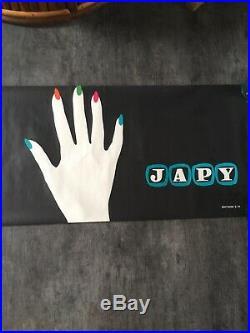Affiche ancienne. Publicité Pour Les Machine À Écrire Japy