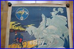 Affiche ancienne bicyclette clément MICH