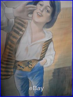 Affiche ancienne cacao Van Houten