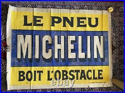 Affiche ancienne originale Michelin