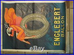 Affiche ancienne pneu Englebert a Liege par henri Le Monnier 1926 no Cappiello