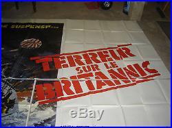 Affiche cinéma TERREUR SUR LE BRITANIC