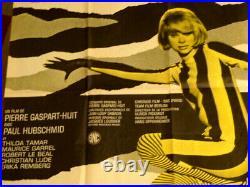 Affiche de cinema ancienne originale A belles Dents avec Mireille d'Arc