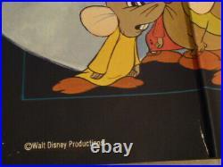 Affiche de cinéma ancienne originale Cendrillon Walt Disney