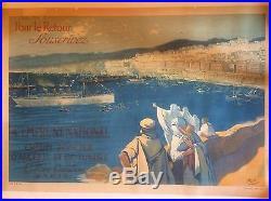 Affiche emprunt algérie Poster French loan ww1 1ère guerre mondiale