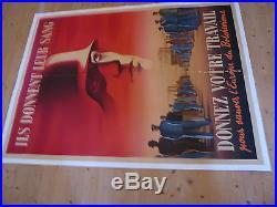Affiche militaria Donnez votre travail