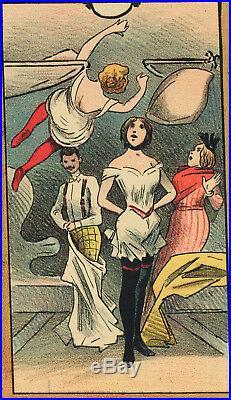 Affiche originale A. Choubrac Orient Express Wagons Lits Opéra 1896