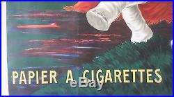 Affiche originale CAPPIELLO Je Ne Fume Que Le Nil imp VERCASSON 1912