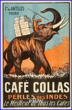 Affiche originale Café Collas 1927