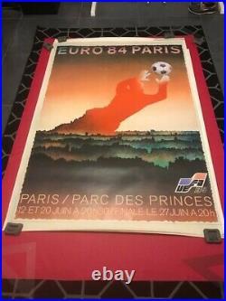 Affiche originale EURO 84 PARIS par GRANGER
