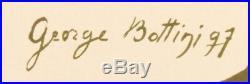 Affiche originale George Bottini Cycles Médinger Paris Montmartre 1897