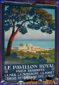 Affiche originale LE PAVILLON ROYAL Constant Duval