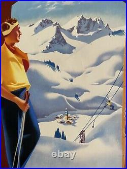 Affiche originale ancienne Autriche 1950