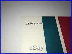 Affiche originale ancienne FRIGIDAIRE Général Motors CADILLAC JEAN COLIN 1960