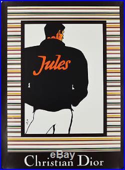 Affiche originale années 80 JULES Par GRUAU