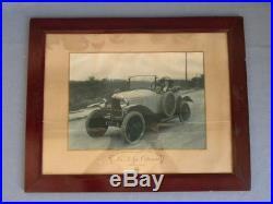 Affiche photographique Citroën concessionnaire circa 1920 torpedo 5 hp originale