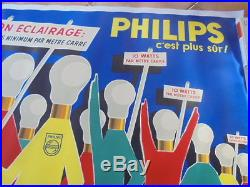 Affiche publicitaire ancienne