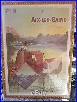 Affiches Aix les Bains P. L. M. Hugo d'Alesi