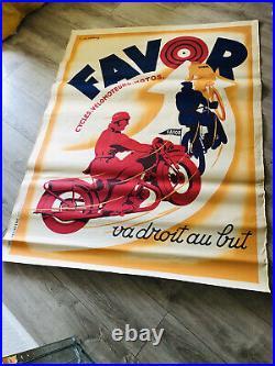 Affiches Moto Favor