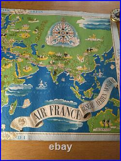 Air France Affiche Annees 30 Lucien Boucher Second Tirage