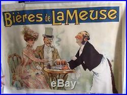 Albert GUILLAUME BIERE DE LA MEUSE années 1900