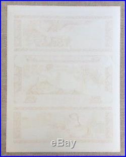 Alfons MUCHA pour LU / Lefèvre-Utile Planche lithographiée Mélange Italien