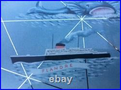 Ancien Calendrier Perpetuel Compagnie Générale Transatlantique Bouvard Gerrer
