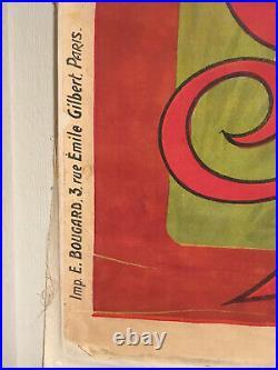 Ancien affiche Gladiator velo