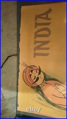 Ancienne affiche Air India