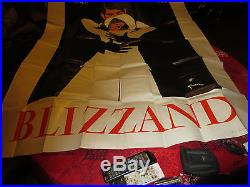 Ancienne affiche Blizand signee Gruau