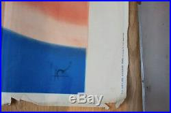 Ancienne affiche poster lithographie Bébé Cadum savon Arsene Le Feuvre