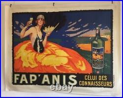 Ancienne affiche publicitaire FAPANIS