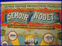 Ancienne et authentique affiche agricole noblet