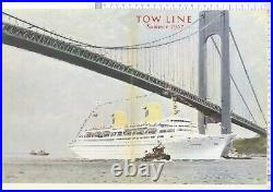 Brenet Moran Tugboats Tow Line Summer 1967 The Kungsholm Liner New York