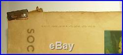 Bretagne menhir & bigoudènes Affiche originale signée Abel SNCF 1947 98x60cm