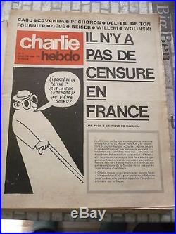 CHARLIE HEBDO N°1 23 NOVEMBRE 1970