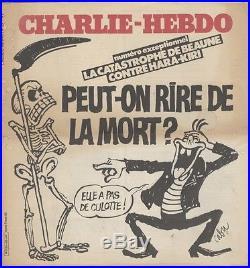 CHARLIE-HEBDO N°25 du 7/9/1982 CABU PEUT-ON RIRE DE LA MORT