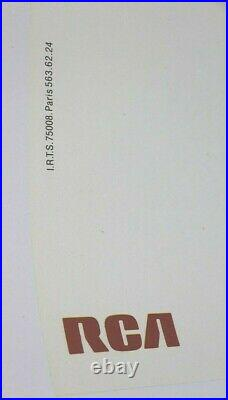 COLUCHE Michel Colucci AFFICHE ORIGINALE SPECTACLE RCA LEDERMAN G. FERY