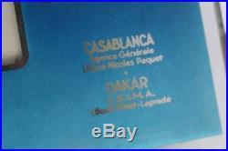 Calendrier Cie De Navigation PAQUET J. TONELLI publicité bateaux (37514)