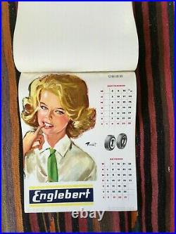 Calendrier Englebert Pin Up Brenot
