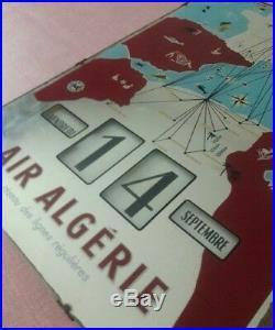 Calendrier perpétuel air Algerie air France