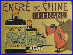 Carton Pub Encre De Chine Lefranc